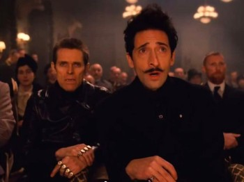 Willem Dafoe and Adrien Brody play dastardly villains Jopling and Dimitri.