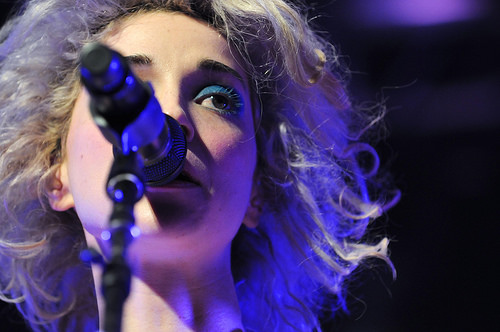 St Vincent at Stubbs SXSW