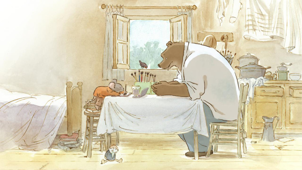 A beautiful frame from 'Ernest & Celestine'