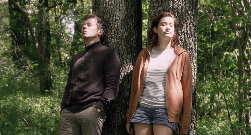 Emmanuelle Devos and Mathieu Amalric in Sophie Fillieres' IF YOU DON'T, I WILL.