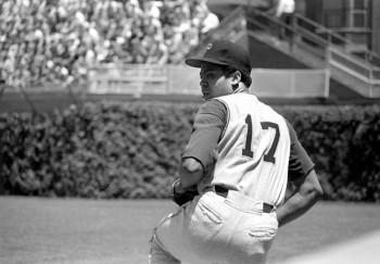 Dock Ellis readies the pitch.