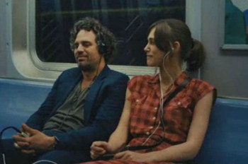 Mark Ruffalo and Keira Knightley share some music in Once 2.0, AKA Begin Again.