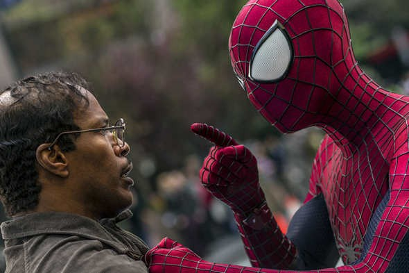 The Amazing Spider-Man explains to Jamie Foxx that his character is a one-note waste of time.