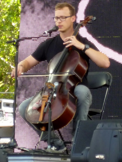 Ben Sollee is a fascinating fusion of R&B, bluegrass, and folk.