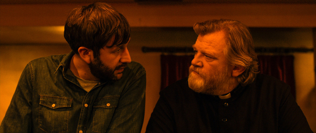 Chris O'Dowd and Brendan Gleeson are laughin' it up!