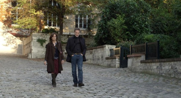 Kristin Scott Thomas's Chloe and Kevin Kline's Jim talk and talk and talk and talk some more as they walk the streets of Paris.