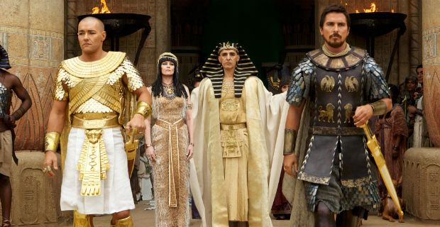 Introducing your dream Egyptian cast: Joel Edgerton, Sigourney Weaver, John Turturro, and Christian Bale.