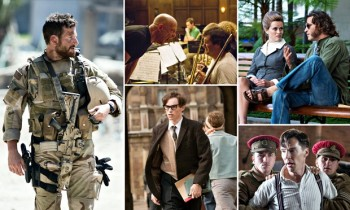 Nominations for the adapted screenplay Oscar