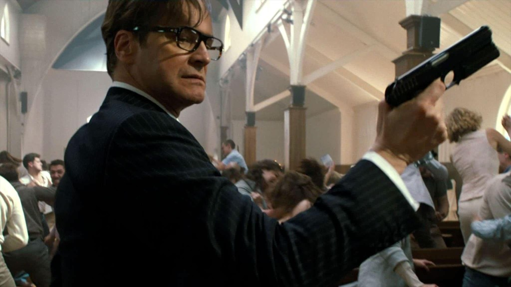 Colin Firth in Kingsman -- The Secret Service