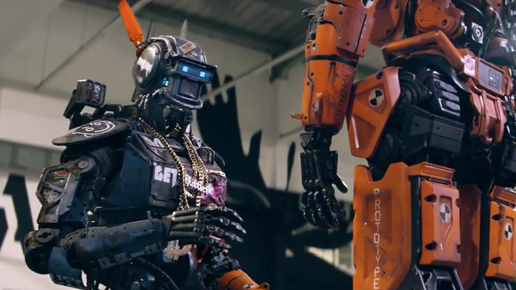 Chappie stars as CHAPPiE