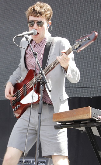 Big brother Noah Sierota on bass.