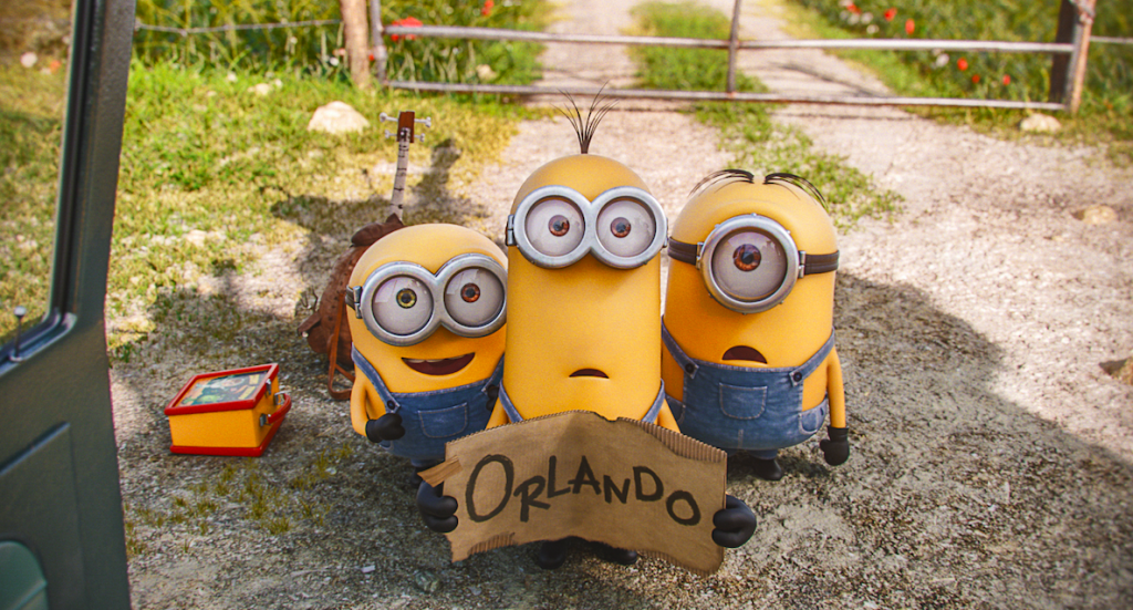 Bob and Kevin and Stuart. Three Three (Minion) Stooges.