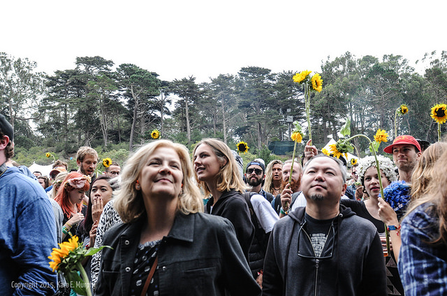 Just a bunch of hippies in Golden Gate Park