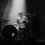 Dylan Fujioka on drums for Chelsea Wolfe