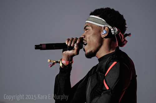 Chance the Rapper at Pitchfork Music Festival