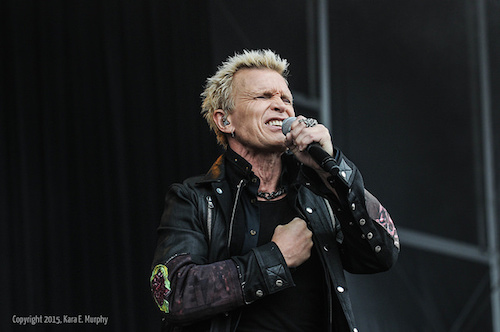 Billy Idol at Outside Lands Music Festival