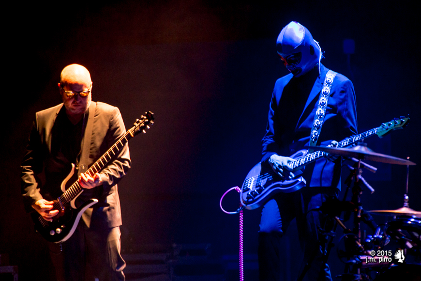 Mat Mitchell and Paul Barker of Puscifer