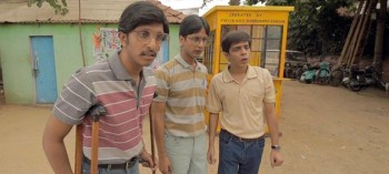 From left, Chaitanya Varad, Tanmay Dhanania, and Shashank Arora are a trio of virgin collegiate quiz champs.