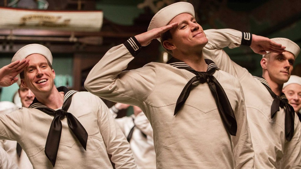 Channing Tatum the singing, dancing sailor.