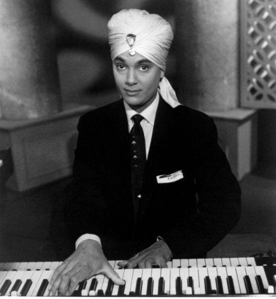 Korla Pandit, Godfather of Exotica Music (whom you can see on February 20th during this year's Noise Pop Festival!)