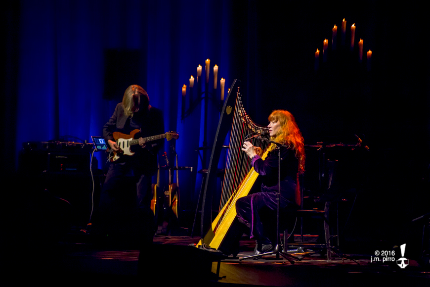Brian Hughes and Loreena McKennitt