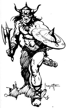 Conan, by Frazetta