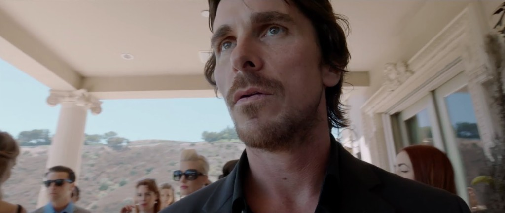 Christian Bale is a Hollywood Knight...of cups.