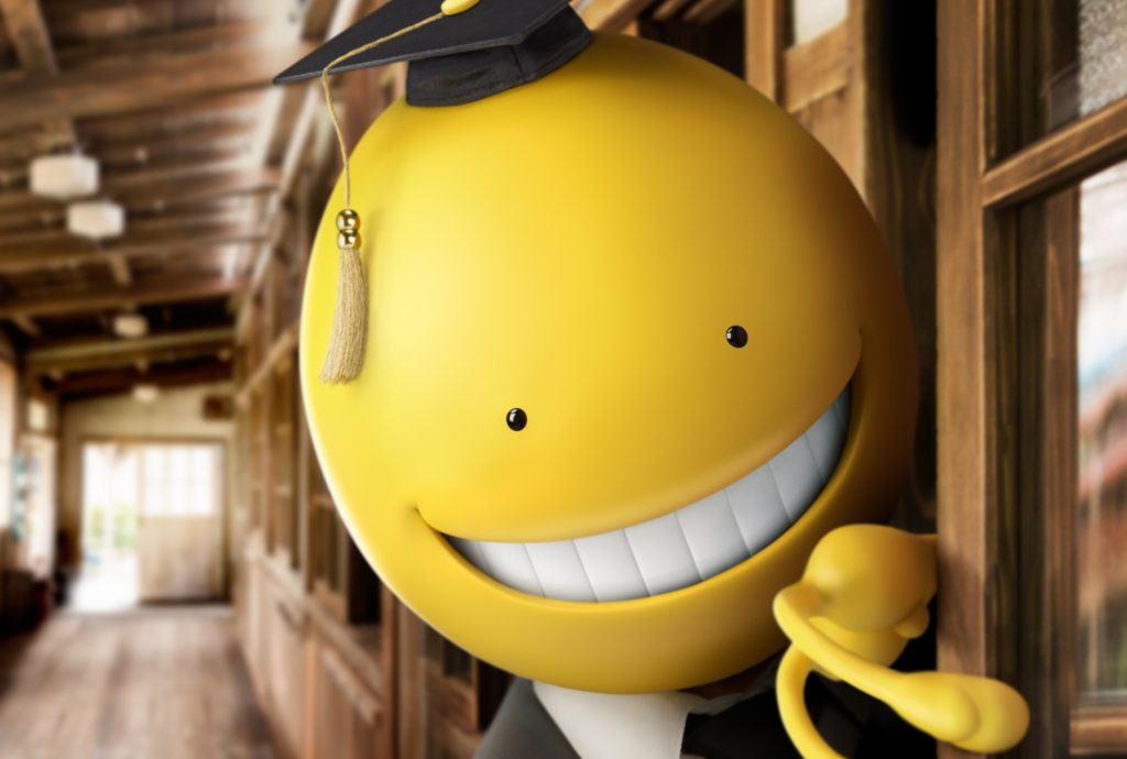 A scene from Eiichirô Hasumi's ASSASSINATION CLASSROOM will play at the 59th San Francisco International Film Festival, on April 21 - May 5,2016.