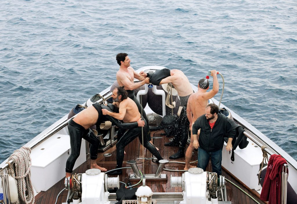 A scene from Athina Rachel Tsangari's CHEVALIER will play at the 59th San Francisco International Film Festival, on April 21 - May 5,2016.