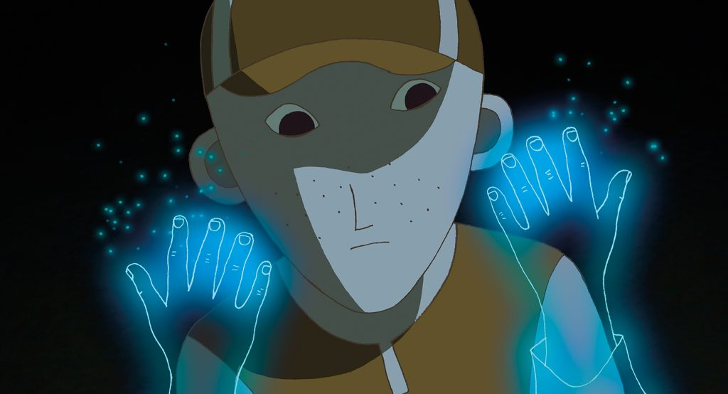 A scene from Alain Gagnol and Jean-Loup Felicioli's PHANTOM BOY will play at the 59th San Francisco International Film Festival, on April 21 - May 5,2016.