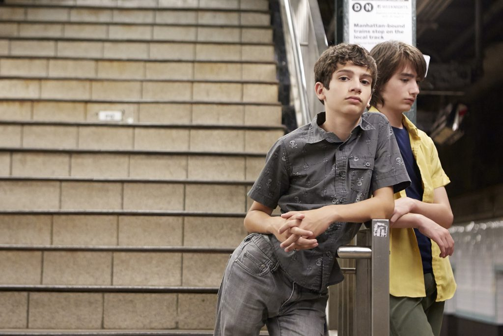 A scene from Ira Sachs's LITTLE MEN will play at the 59th San Francisco International Film Festival, on April 21 - May 5,2016.