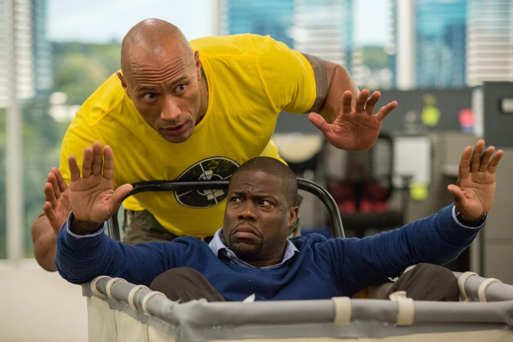 Super secret action plan from The Rock to Kevin Hart.