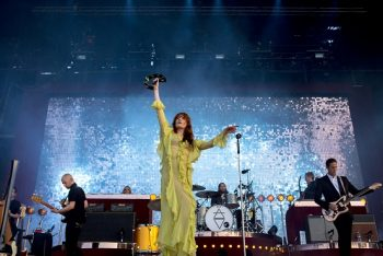 Florence + the Machine are electric! (Photo credit: BottleRock Napa Valley / Latitude 38 Entertainment)