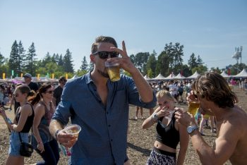 In case you weren't sure, BottleRock is full of fun to be had! (Photo credit: BottleRock Napa Valley / Latitude 38 Entertainment)