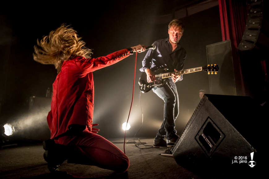 Dennis Lyxzén and Kristofer Steen of Refused
