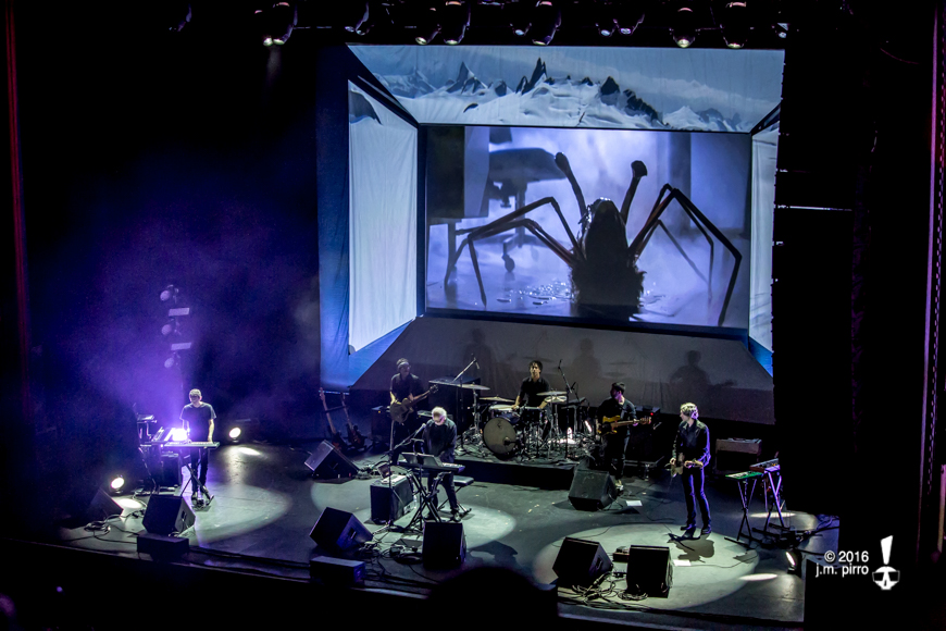 John Carpenter and his live band