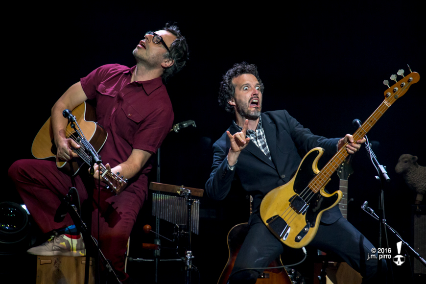 Jemaine Clement and Bret McKenzie of Flight Of The Conchords