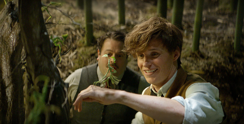 Newt and a Fantastic Beast