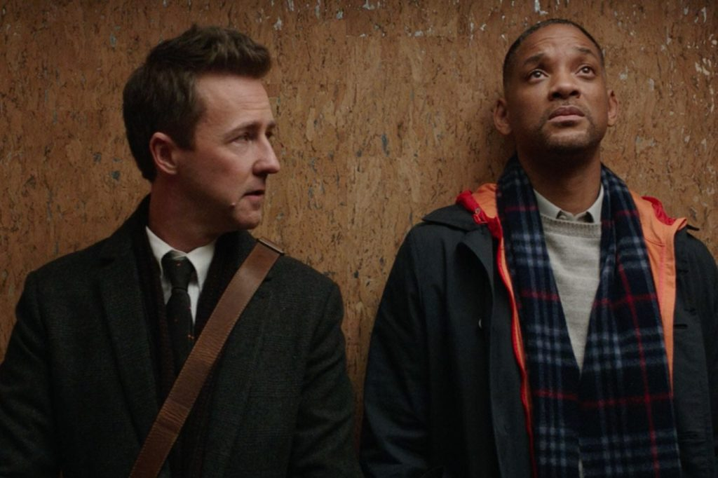 Will Smith and Edward Norton aren't too happy about anything.