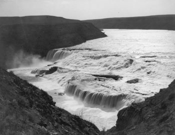 The Great Falls of the Missouri River in 1880